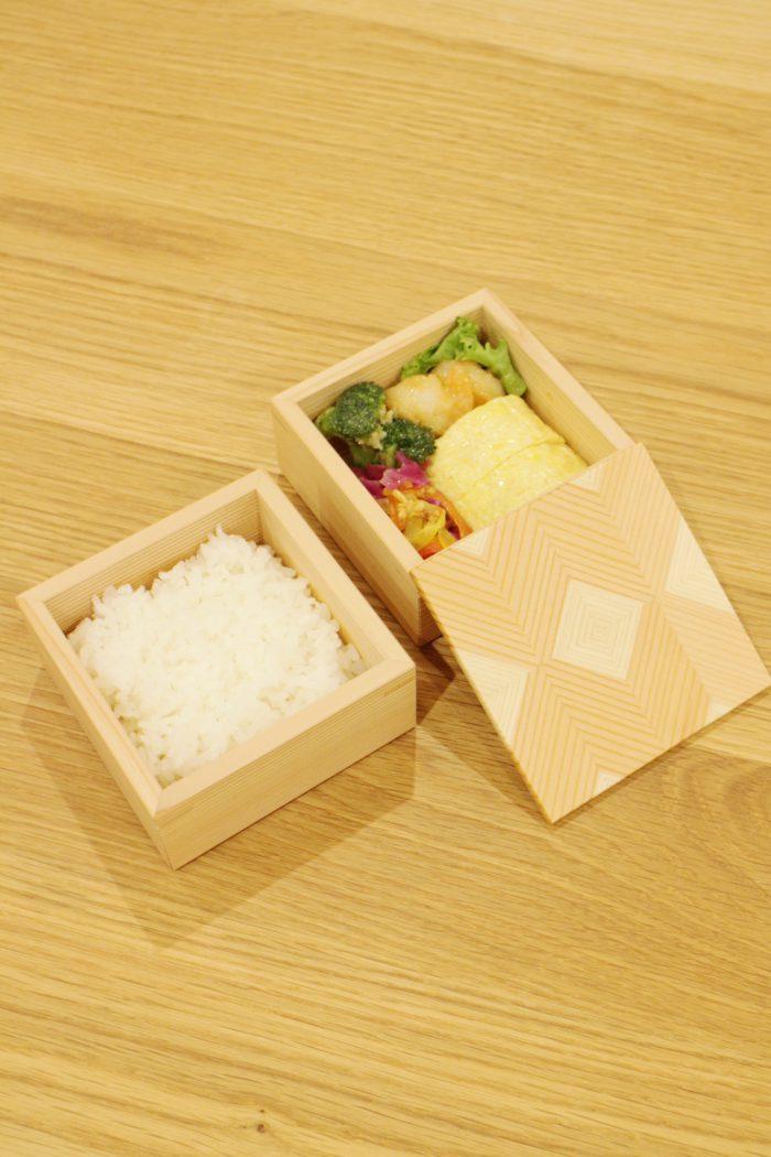 岐阜の木製品 「結粋」お弁当箱