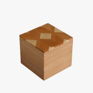 岐阜の木製品「結粋」お弁当箱(こ重S2段)